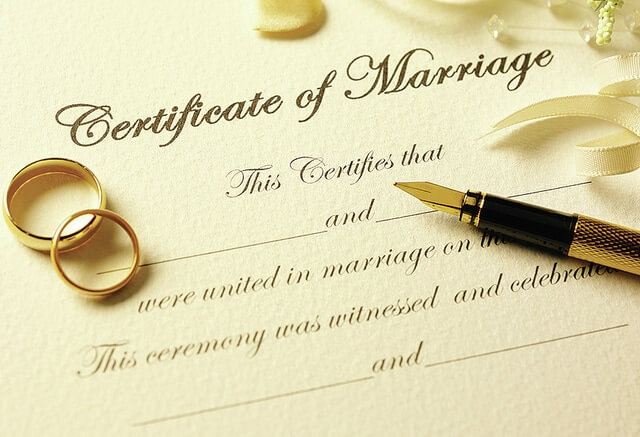 Marriage Laws in WV